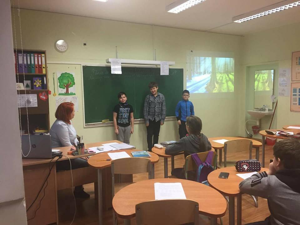 Методический день в Паю школе 24.01.18