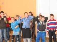 Неделя спорта в Паю школе. Активные перемены.