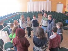 Волонтерский десант в Паю школе