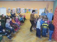 Детские сады в гостях в Паю школе