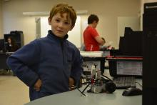 Robotrack at Legopolis